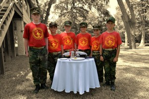 Young Marines_table